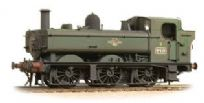 Graham Farish 371-987A Class 64xx 0-6-0 Pannier Tank 6419 in BR Lined Green late crest (weathered)